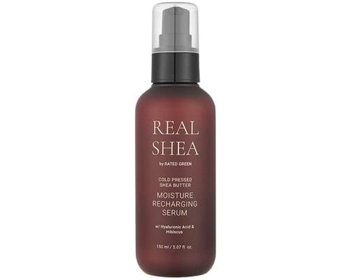 Rated Green Real Shea Moisturizing Recharging Serum, Serum Rambut Yang Bagus Untuk Rambut Kering