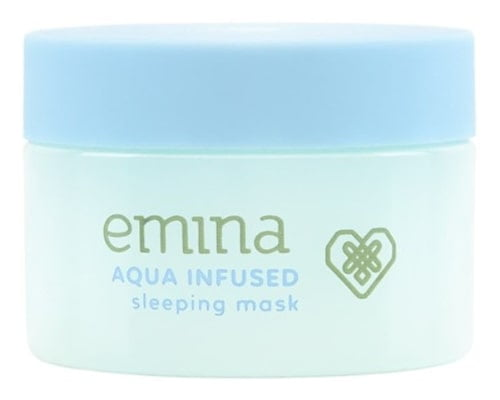 Emina Aqua Infused Sleeping Mask, Skin Care Emina Untuk Kulit Berminyak