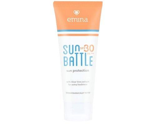 Emina Sun Battle SPF 30, Skin Care Emina Untuk Kulit Berminyak